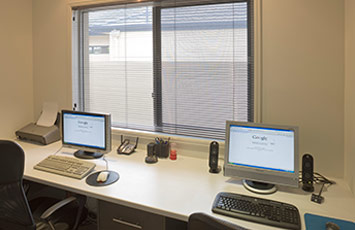 inside the office at Suburban Security Screens Gold Coast